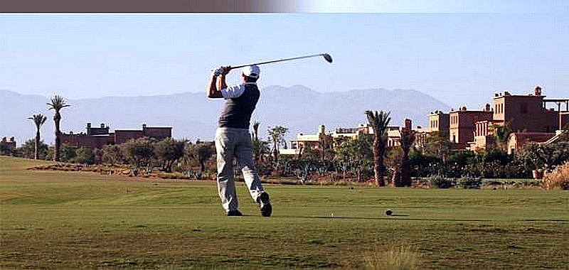Golf d�couverte : 3j/2n - Riad + 1 Green fees Golf Royal pour 2 pers ...........185 � / persone